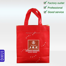 custom high quality nonwoven shopping bag, good quality and screen printing reusable promotional winebottle bag.