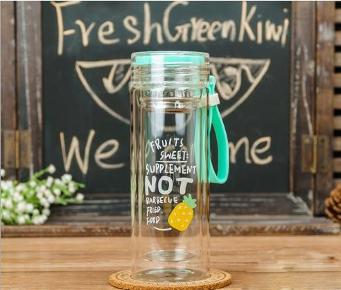 Glass Bottle Customized for Sports, Travel, Couple