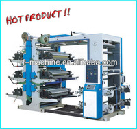 Six Colors Flexography Printing Machine (double side print)