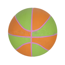 Cheap factory promotional rubber mini basketballs ball
