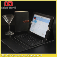 Wireless Bluetooth Keyboard With PU Leather Case Black Cover for iPad Air Detachable Stand Case for iPad 5 Hot selling