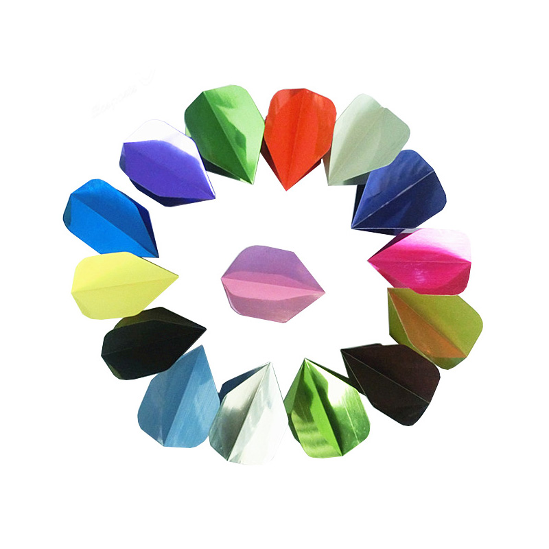 10 New Sets of Standard Metallic Dart Flights - Wholesale Prices