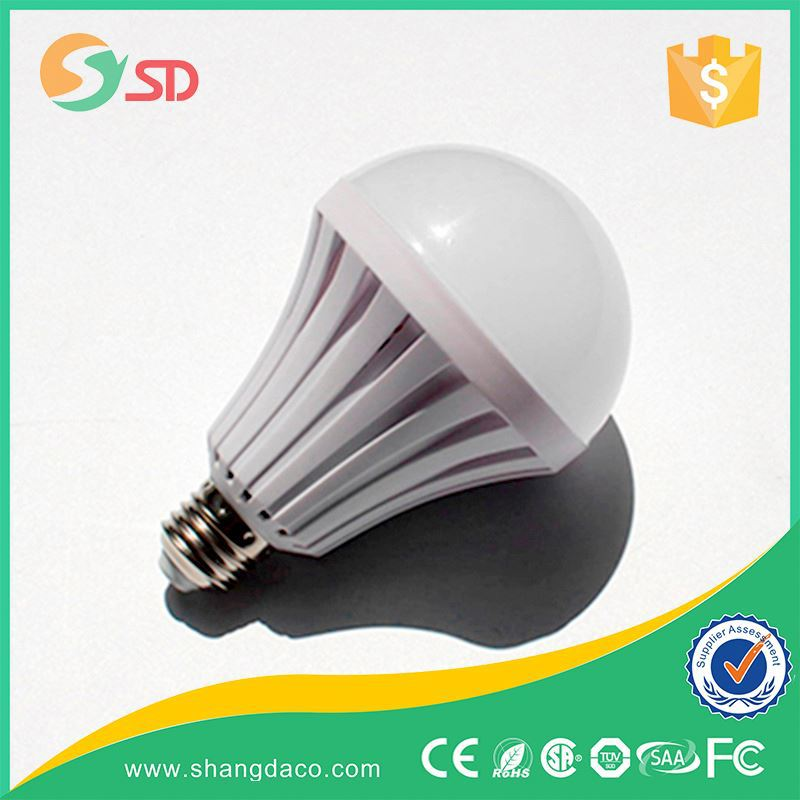 rechargeable led emergency bulb with built-in battery,smd plastic emergency 5w 7w 9w 12w Led rechargeable Bulb E27