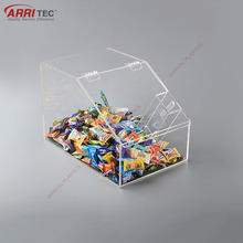 stackable candy bins wholesale pet food bin clear acrylic commercial candy dispenser