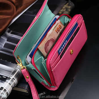 Universal Crown Pouch Case For IPhone 5S 4S 5C 5 4 Wallet Bag For Samsung Galaxy S5 S4 S3 Money Purse For Smartphone RCD00282