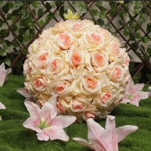 Wedding decorative hanging flower kissing ball silk rose balls