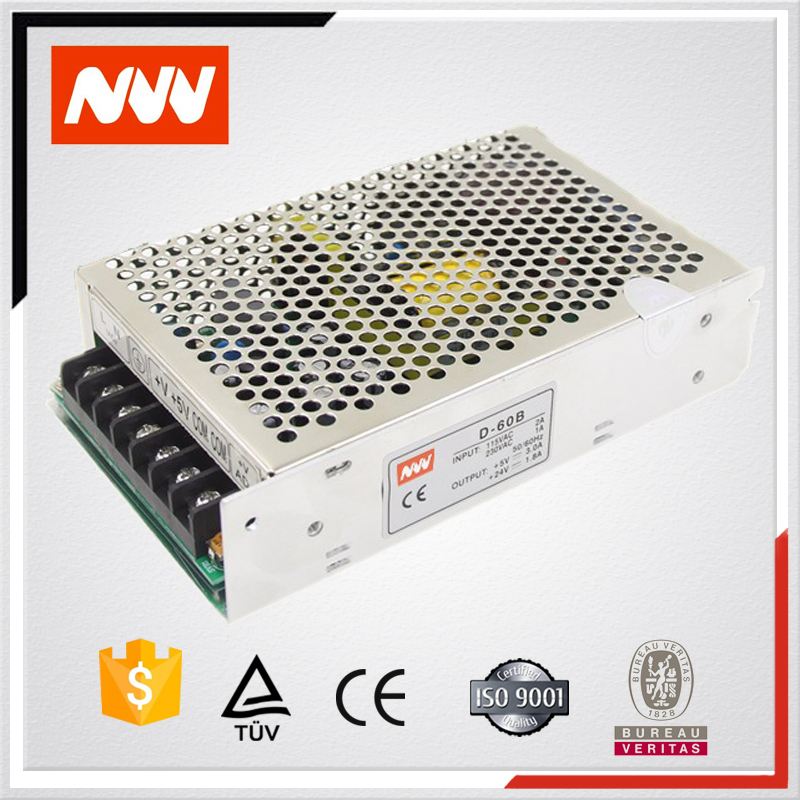 D-60A D-60B led driver,12v 60w switching power supply ,12v 5v power supply circuit