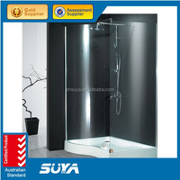 Europe with Australia Simple Shower cabin shower panel / Bathtub shower glass / Bathtub shower screens price
