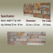 Cheap garden natural slate cultural stone flagstone stepping stones paving stone
