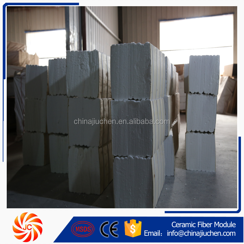 JC kiln for burning bricks fire-resistant ceramic fiber modules