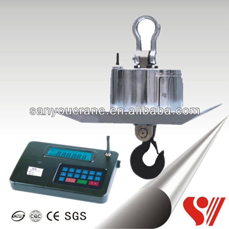 10T 5T OCS Wireless Control Digital Fire Protection 5T Crane Scale