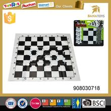 Folding chess games set backgammon checkers game