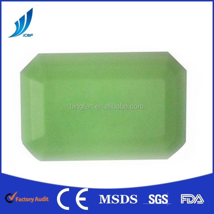 Hot sale -18 degree pcm phase change material gel ice box /clear ice box