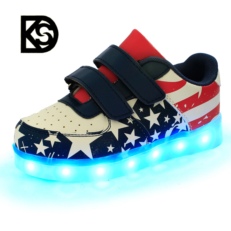 Factory price 7 colors rechargeable led <strong>shoes</strong> with lights for kids