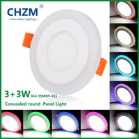 Round Led Panel Light Dimmable 3W