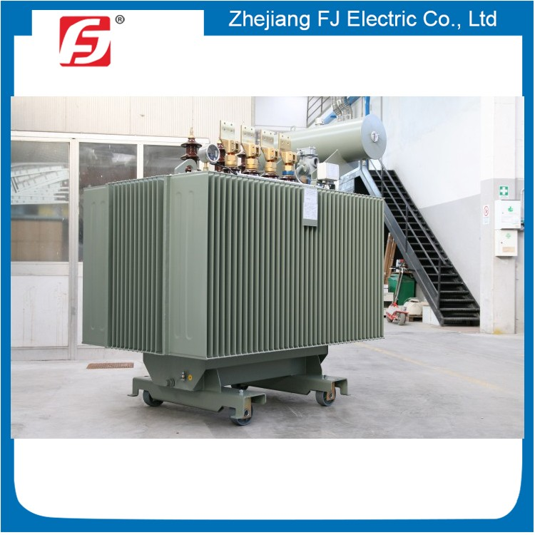 Brand New Silicon Steel Sheet Material Oil Type 3 Phase Step Down Transformer 11KV 33KV 1 MVA Power Transformer