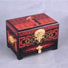 Red Chinese Lacquer Jewelry Boxes Wedding