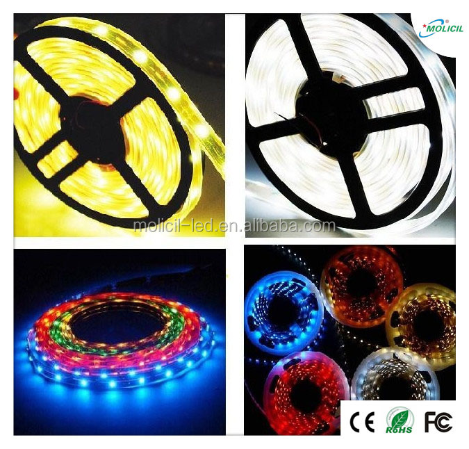 High quality color changing led rope light 12v / 24v cuttable led strip light ip68 waterproof