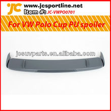 For VW Polo Cup PU roof spoiler (3pieces)