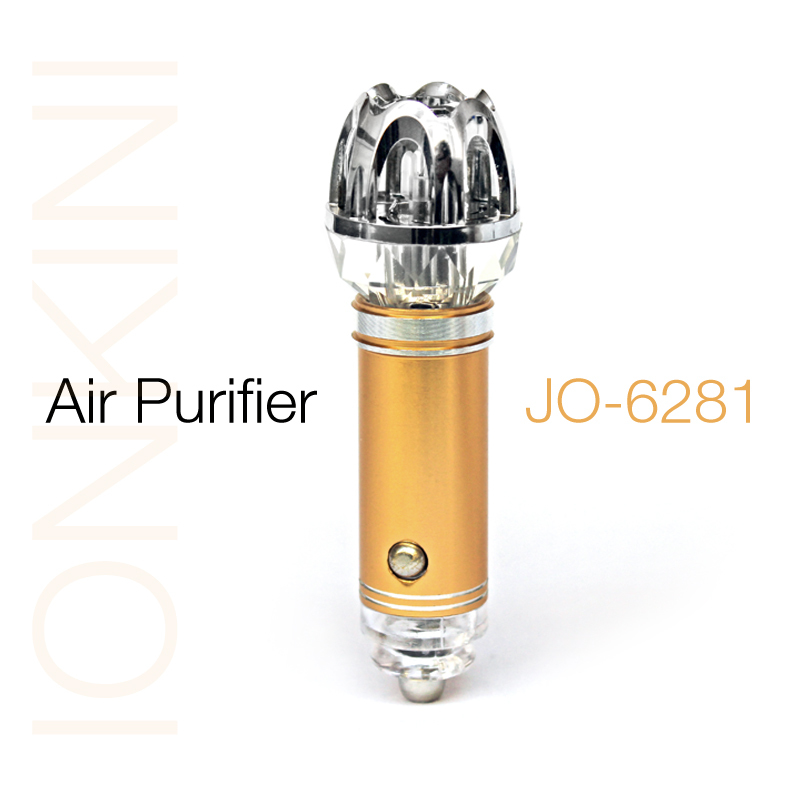2016 New Small Electronic Products on China Market( Car Air Purifier JO-6281 )