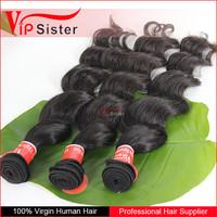 Full cuticle grade 8A virgin brazilian loose body wave 100 human hair extension courses
