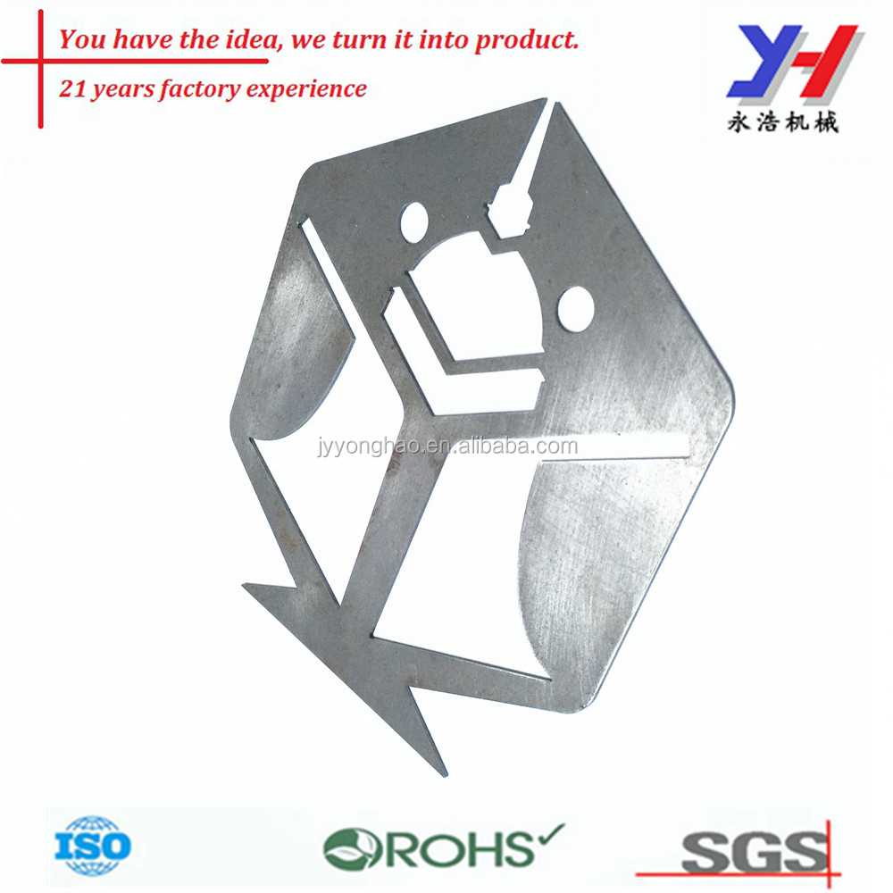 OEM ODM customized fish shape manufacturing aluminum sheet metal stamping spare parts