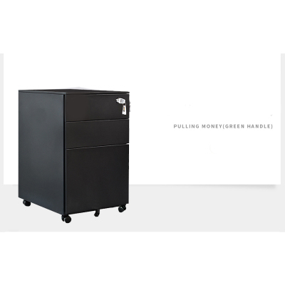 Luoyang File Metal Filing Office Storage Locker Mobile moving Pedestal <strong>cabinet</strong>