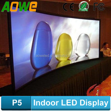 customized size indoor advertising small led display screen