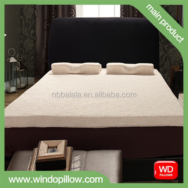 MM516 TOP QUALITY VISCO MEMORY FOAM MATTRESS WITH KNITTED FABRIC COVER
