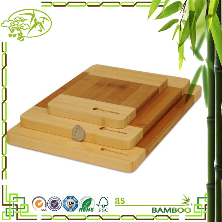 Economical custom design bamboo wood cheese cutting board
