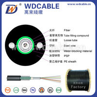 Unitube Light- armored Cable outdoor g655 fiber optical cable