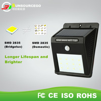 LED Outdoor Solar Powered Wireless 12