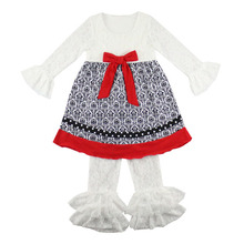 children wholesale baby newborn sets lace boutique knit new model beautiful outfit