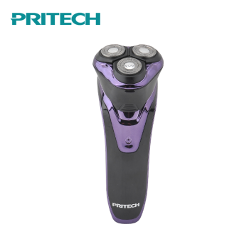 PRITECH New Brand IPX7 Waterproof Li-ion Battery Rechargeable Electric Men Shaver