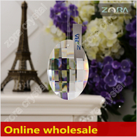 Free sample China Wholesale antique chandelier crystal-76mm Crystal Drops N801