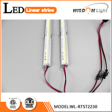 Magnets install 2ft 30W T5 size strip rgb led strip