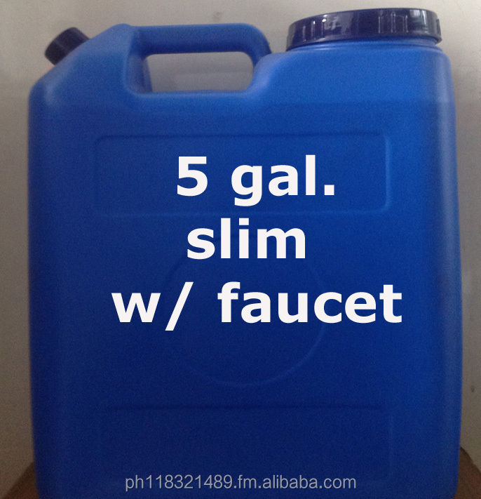 Mineral Water 5 gallon Round