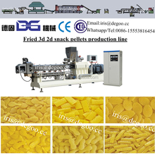 Ready to fry 3d 2d pellets production line /extruder equipment