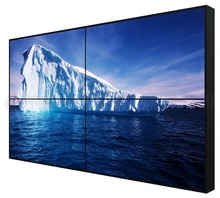 Narrow bezel cheap HD 46 inch 3.9mm hd display wall mounted lcd video wall lcd panel advertising