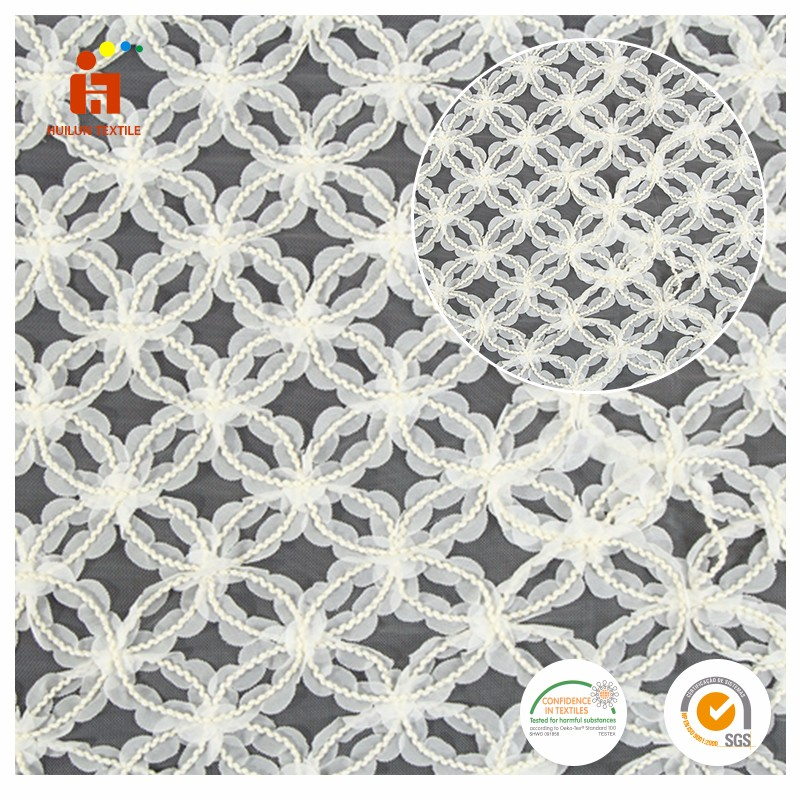 Alibaba online shopping polyester white dress african lace fabric new york