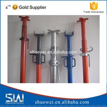 Factory Steel Prop / Prop Jack Support / Adjustable Shoring Posts For Construction