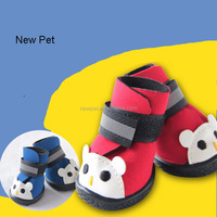 Various styles newly design cartoon bear figure anti-skidding pet sport shoes sneakers