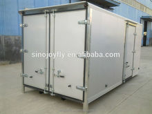 dry cargo box truck van/cargo truck body/cargo van body panel japan refrigerated van truck
