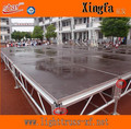 Outdoor Aluminum Stage, Performance Stage, Wooden Platform Stage