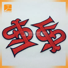 China supplier 3D patch embroidery/custom embroidery patch