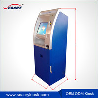 New design touch screen cell phone charging/ card reader kiosk
