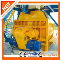 High Efficiency&Quality JS2000Two-shaft Concrete Mixer
