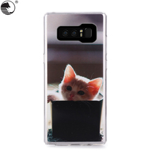 cute animal TPU phone cases For Samsung Galaxy Note 8 6.3 inch