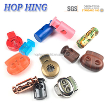 High Quality Wholesale Design Cylinder Shape 3.0mm plastic Stopper/ paracord Lock/ plastic code lock