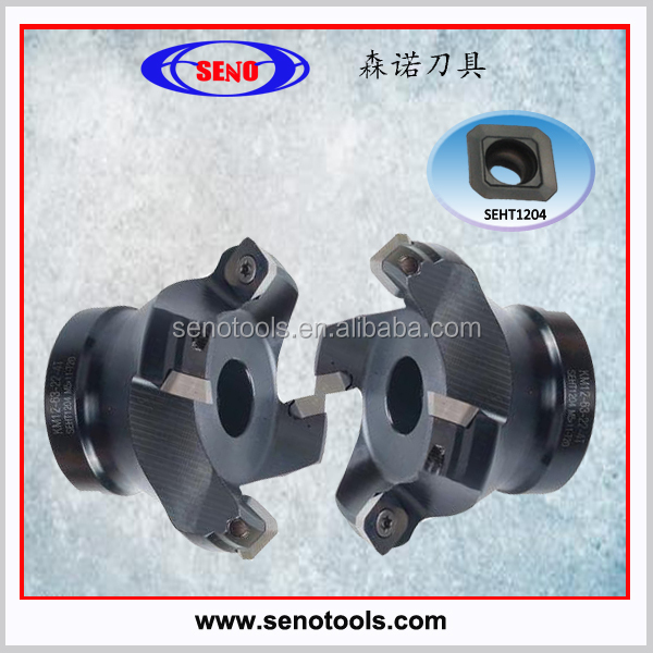 cnc lathe indexable face milling cutter for SEHT milling insert